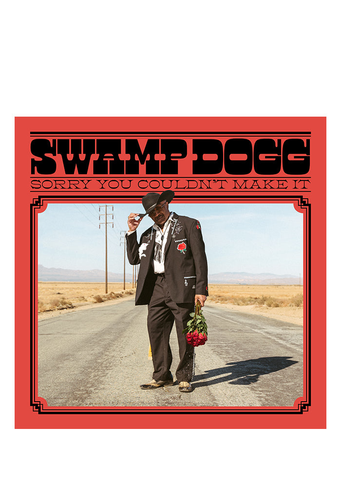 "SWAMP DOGG Sorry You Couldn't Make It LP + 7"" (Color)"
