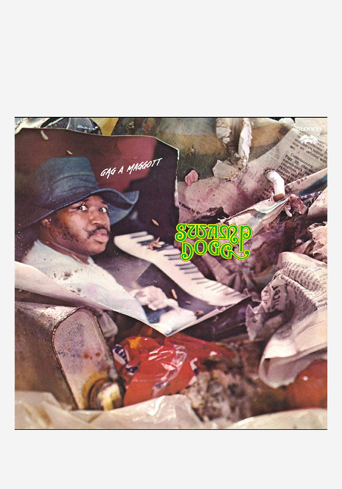 SWAMP DOGG Gag A Maggott LP (Color)