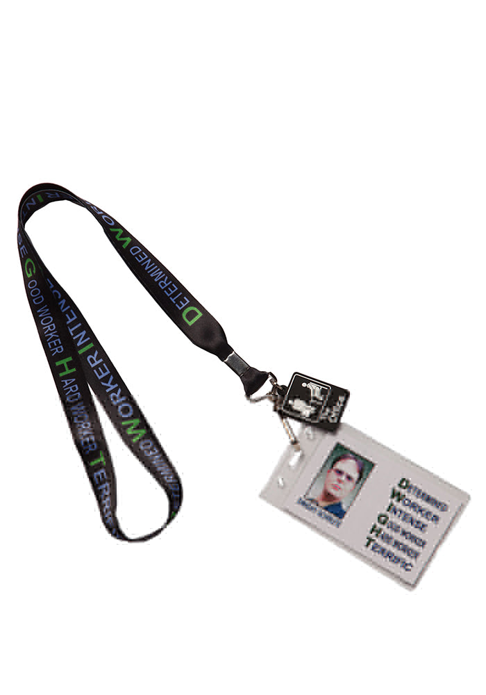 THE OFFICE D.W.I.G.H.T. Acronym Lanyard