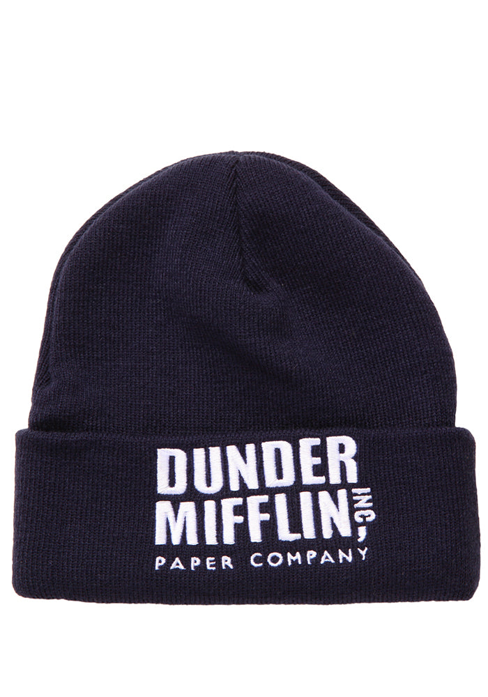 THE OFFICE Dunder Mifflin Cuffed Beanie