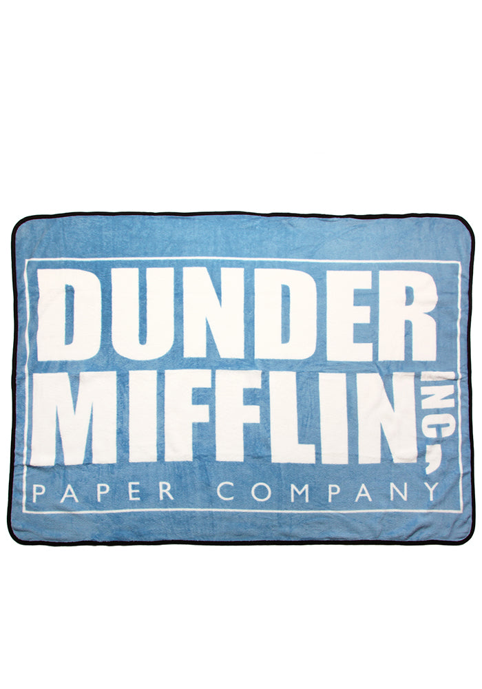 THE OFFICE Dunder Mifflin Fleece Blanket