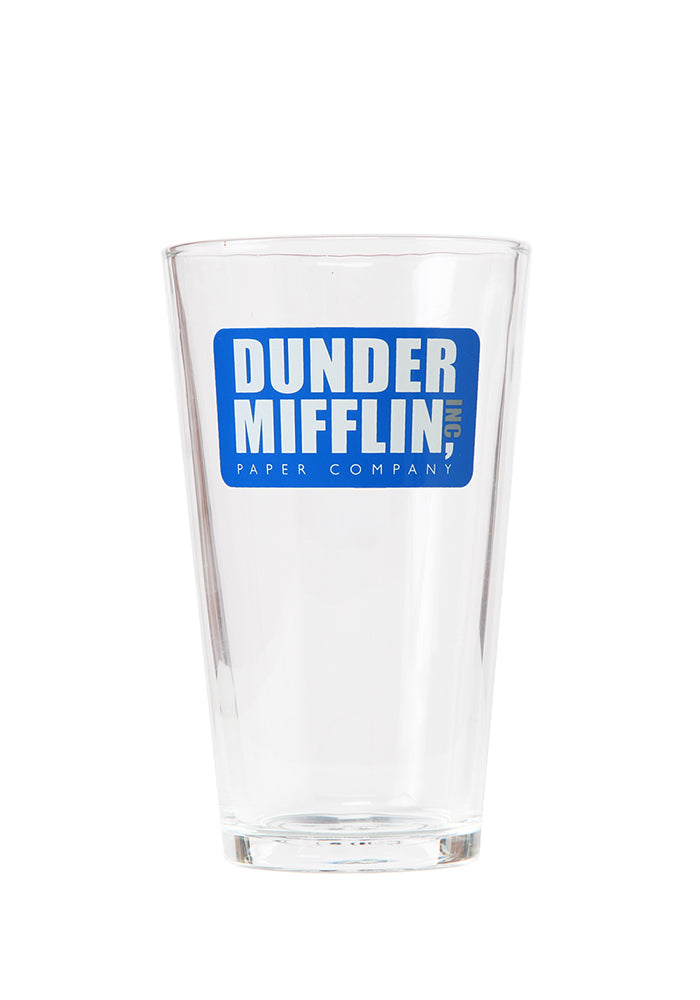 THE OFFICE Dunder Mifflin Pint Glass