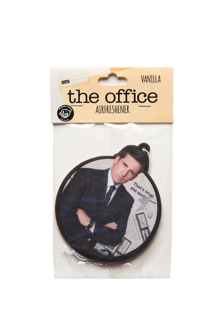 THE OFFICE Michael Scott That's What She Said Air Freshener