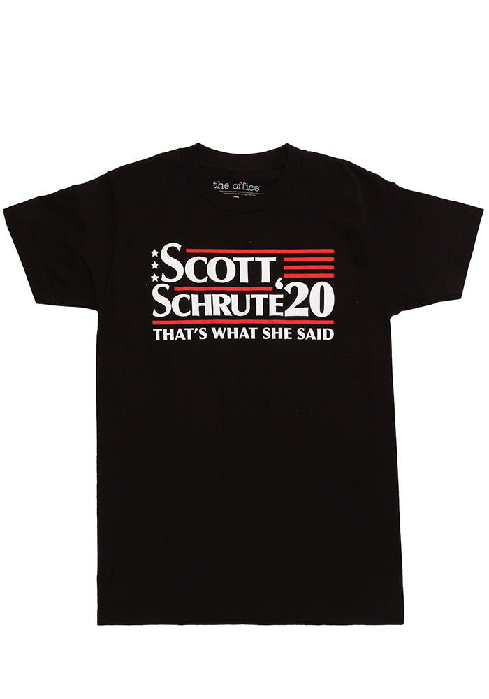THE OFFICE Scott Schrute 2020 Campaign T-Shirt