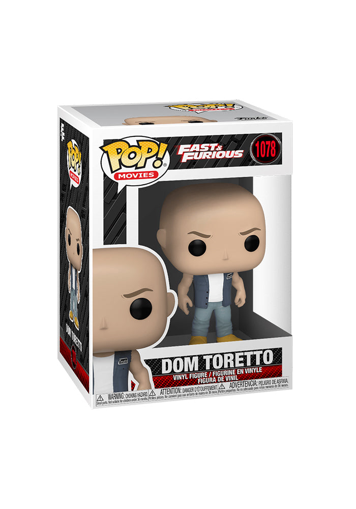 THE FAST AND THE FURIOUS Funko Pop! Movies: F9 - Dom Toretto