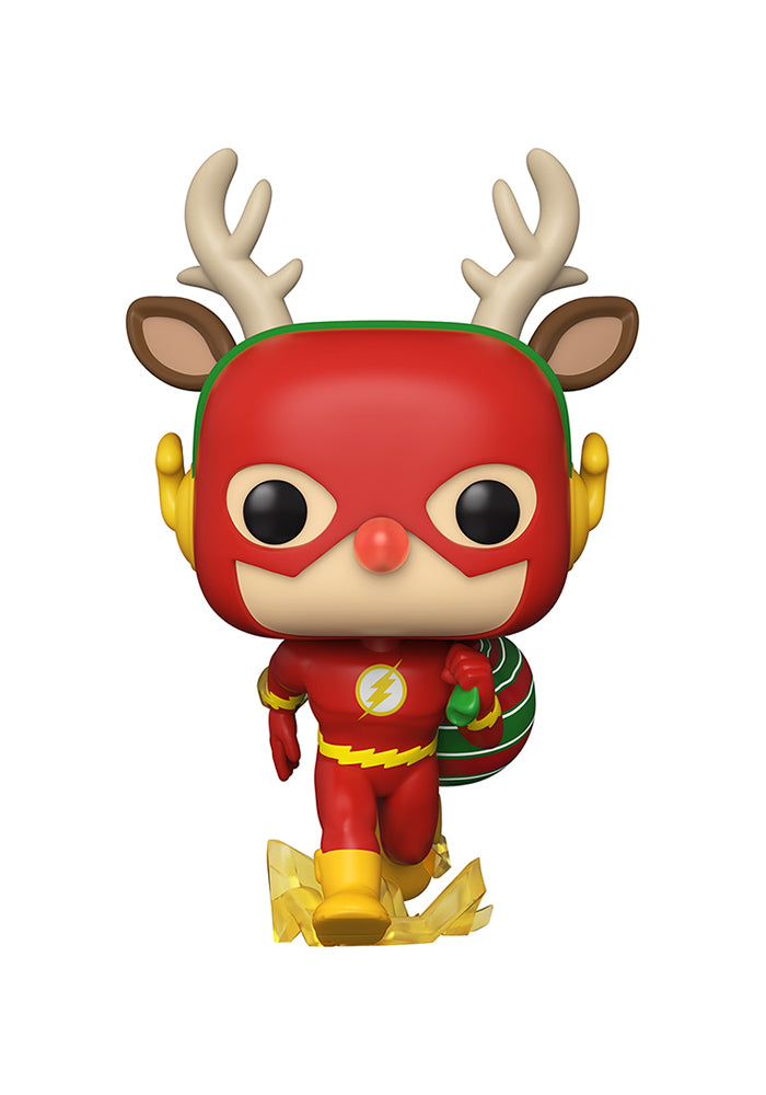 THE FLASH Funko Pop! DC Comics: Holiday - The Flash Holiday Dash