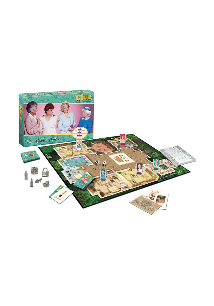 THE GOLDEN GIRLS Clue: The Golden Girls Edition Board Game
