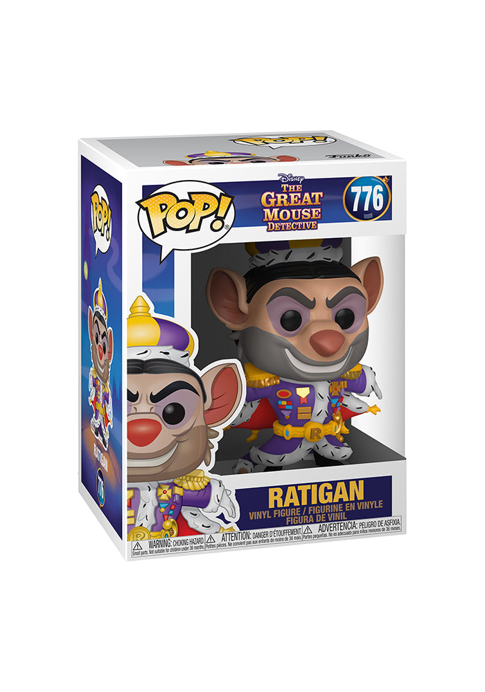 THE GREAT MOUSE DETECTIVE Funko Pop! Disney: The Great Mouse Detective - Ratigan