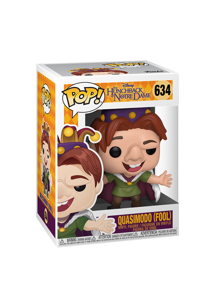 THE HUNCHBACK OF NOTRE DAME Funko Pop! Disney: Hunchback Of Notre Dame - Quasimodo (Fool)