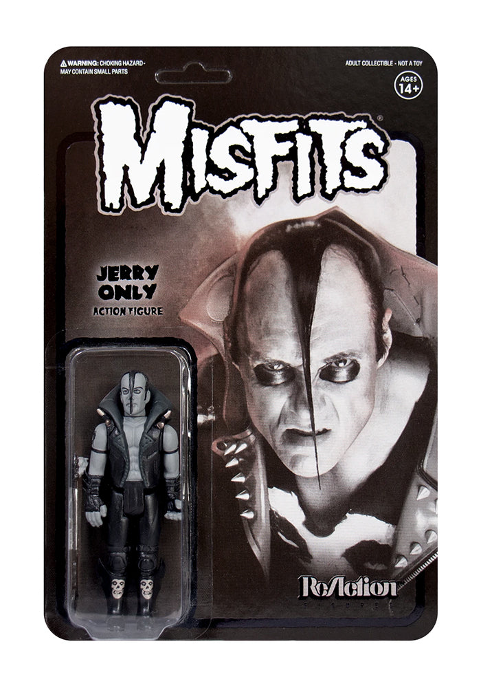 THE MISFITS Misfits Jerry Only ReAction Figure - Black