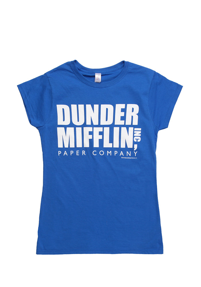 THE OFFICE Dunder Mifflin Inc Paper Company Women's T-shirt