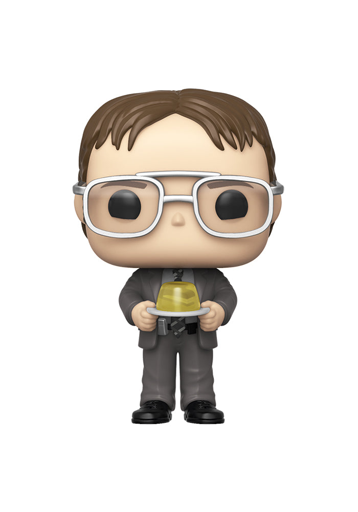 THE OFFICE Funko Pop! TV: The Office - Dwight With Gelatin Stapler
