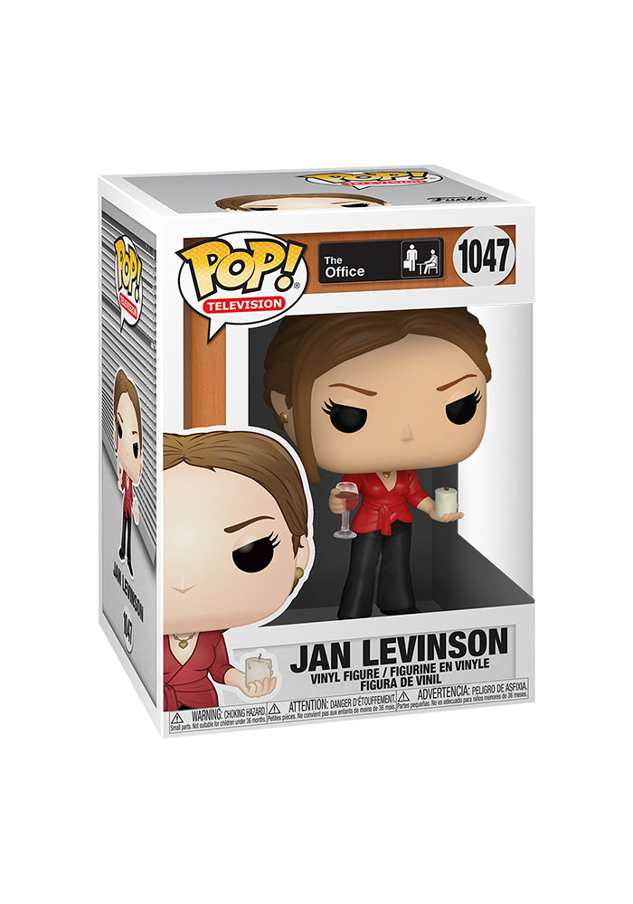 THE OFFICE Funko Pop! TV: The Office - Jan Levinson With Wine And Candle