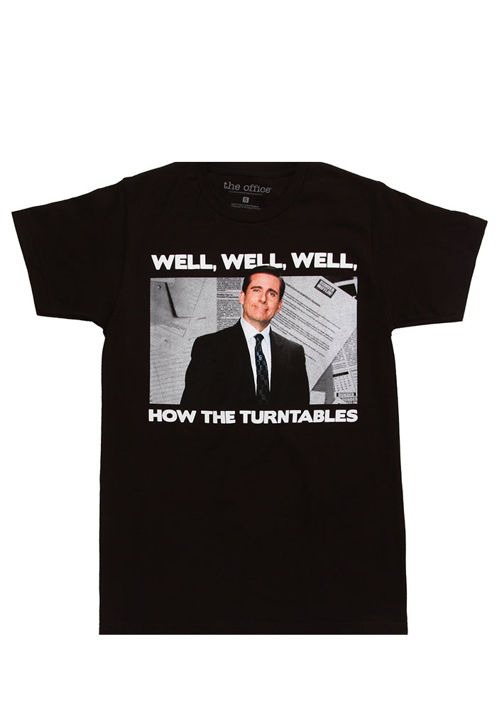 THE OFFICE Michael Scott How The Turntables T-Shirt