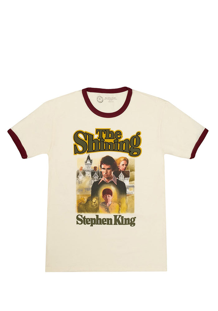 THE SHINING Out Of Print: The Shining Book Cover Ringer T-Shirt