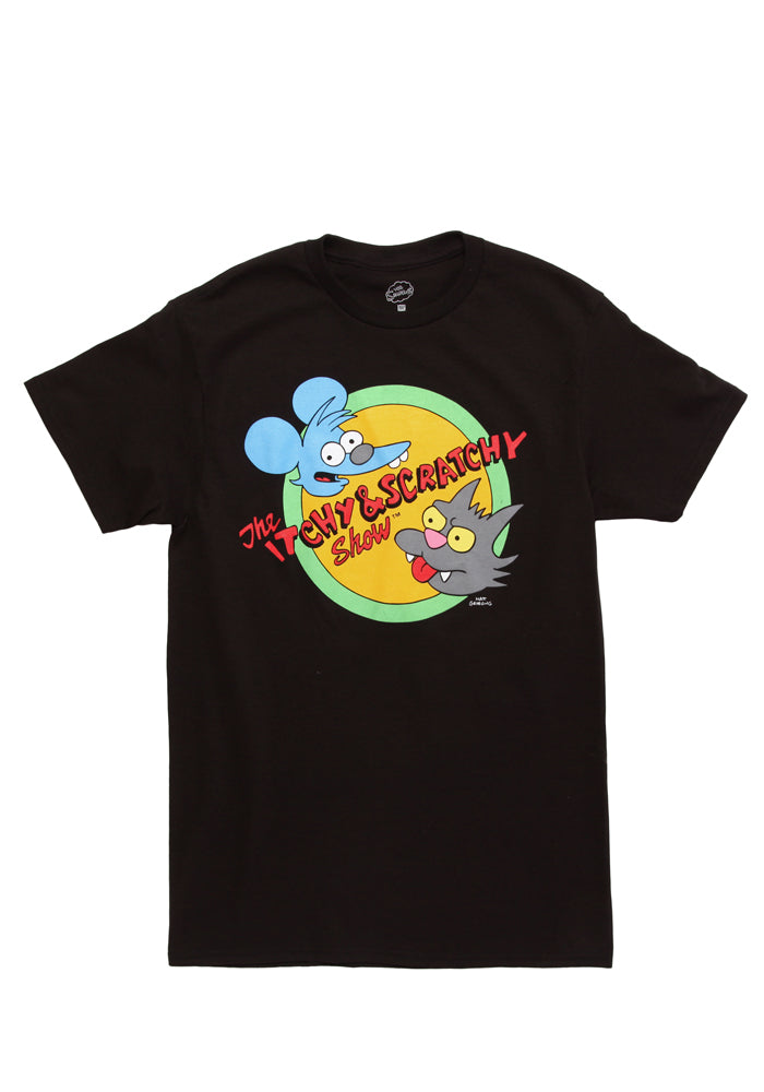 THE SIMPSONS The Itchy & Scratchy Show T-shirt