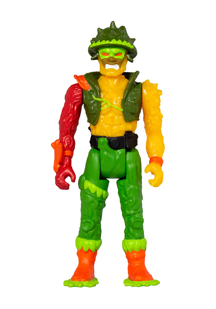 THE TOXIC AVENGER Toxic Crusaders ReAction Figure - Major Disaster