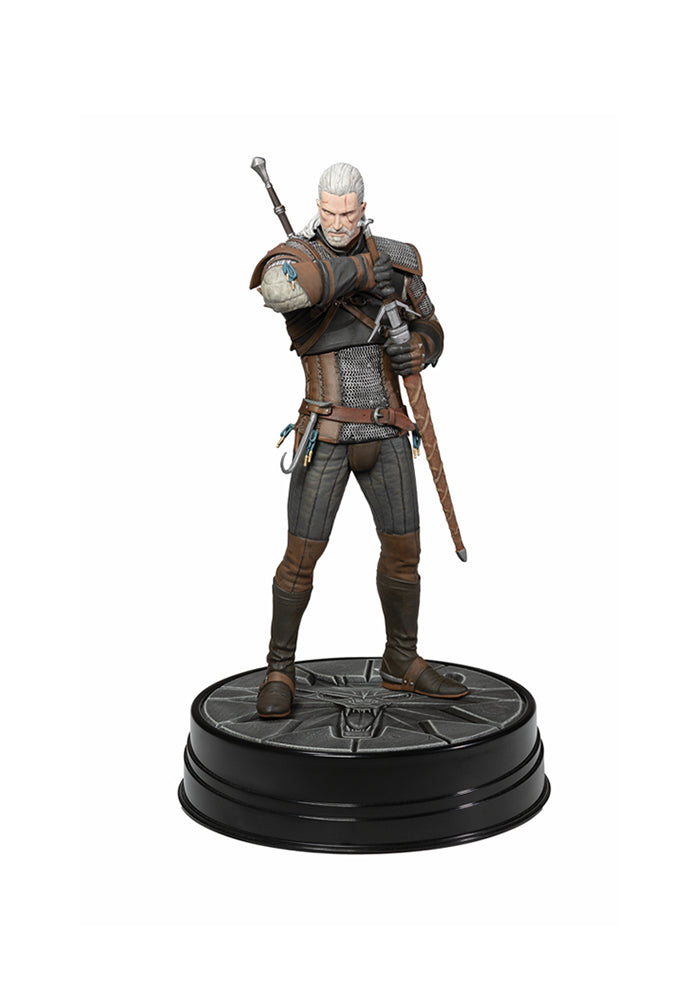 THE WITCHER The Witcher III: Wild Hunt Deluxe Figure - Hearts of Stone Geralt