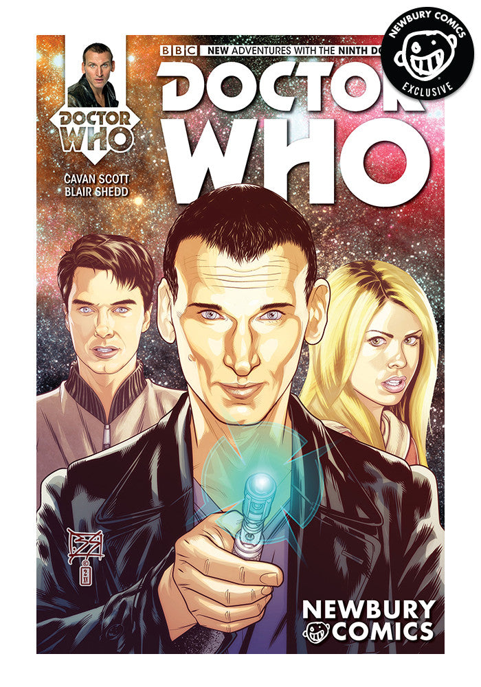 TITAN COMICS Doctor Who 9th #1 - Blair Shedd Exclusive Cover