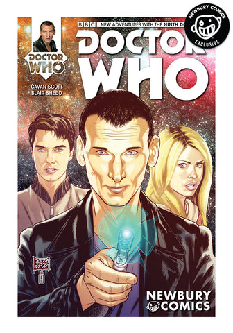 Doctor Who 9th #1 - Blair Shedd Exclusive Cover