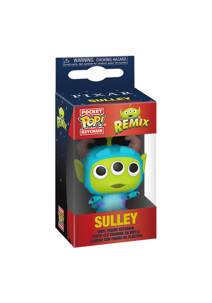 TOY STORY Funko Pocket Pop! Keychain: Disney Pixar Alien Remix - Alien Sulley