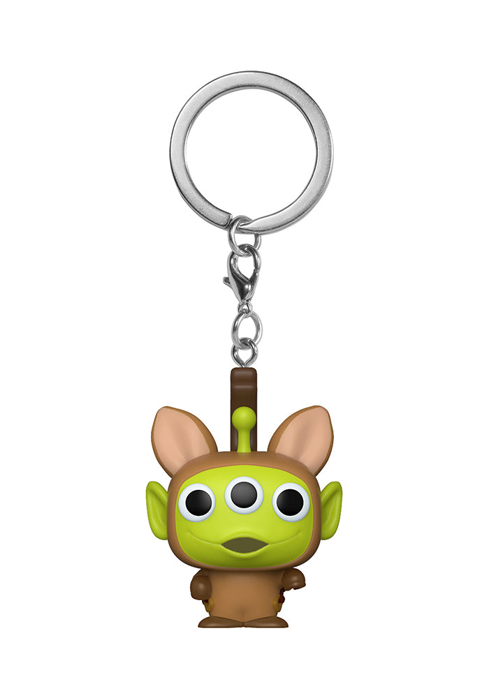 TOY STORY Funko Pocket Pop! Keychain: Disney Pixar Alien Remix - Alien Bullseye