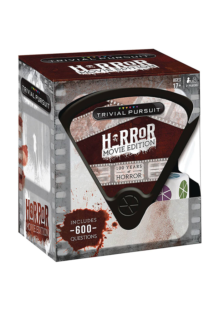 TRIVIAL PURSUIT Trivial Pursuit: Horror Movie Edition Board Game