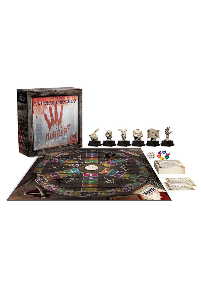 TRIVIAL PURSUIT Trivial Pursuit: Horror Movie Ultimate Edition Board Game