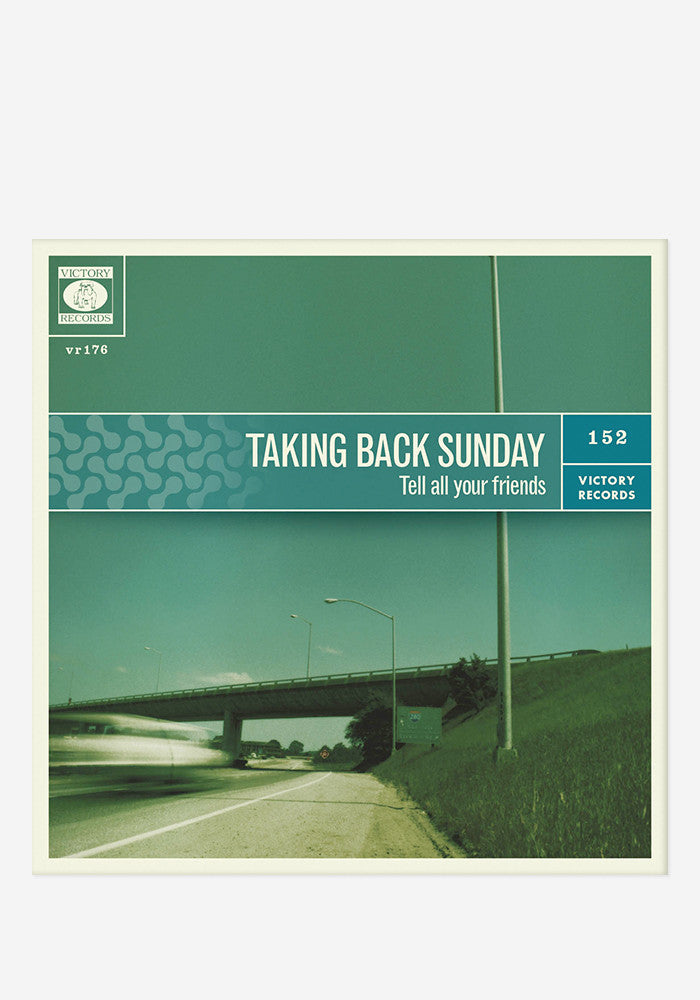 TAKING BACK SUNDAY Tell All Your Friends LP
