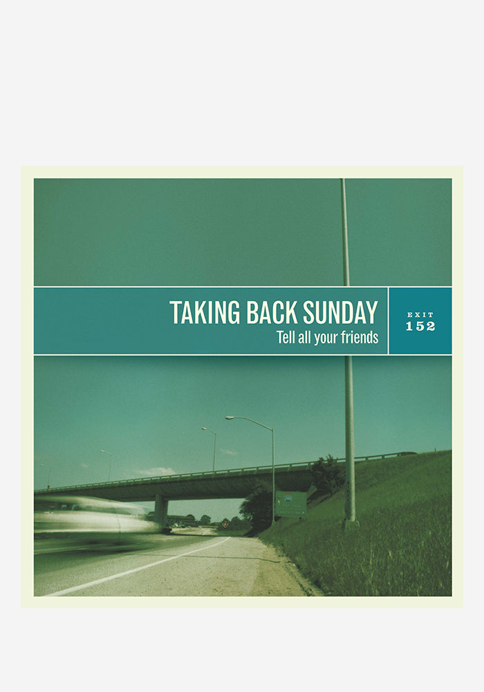 TAKING BACK SUNDAY Tell All Your Friends (Remastered) LP