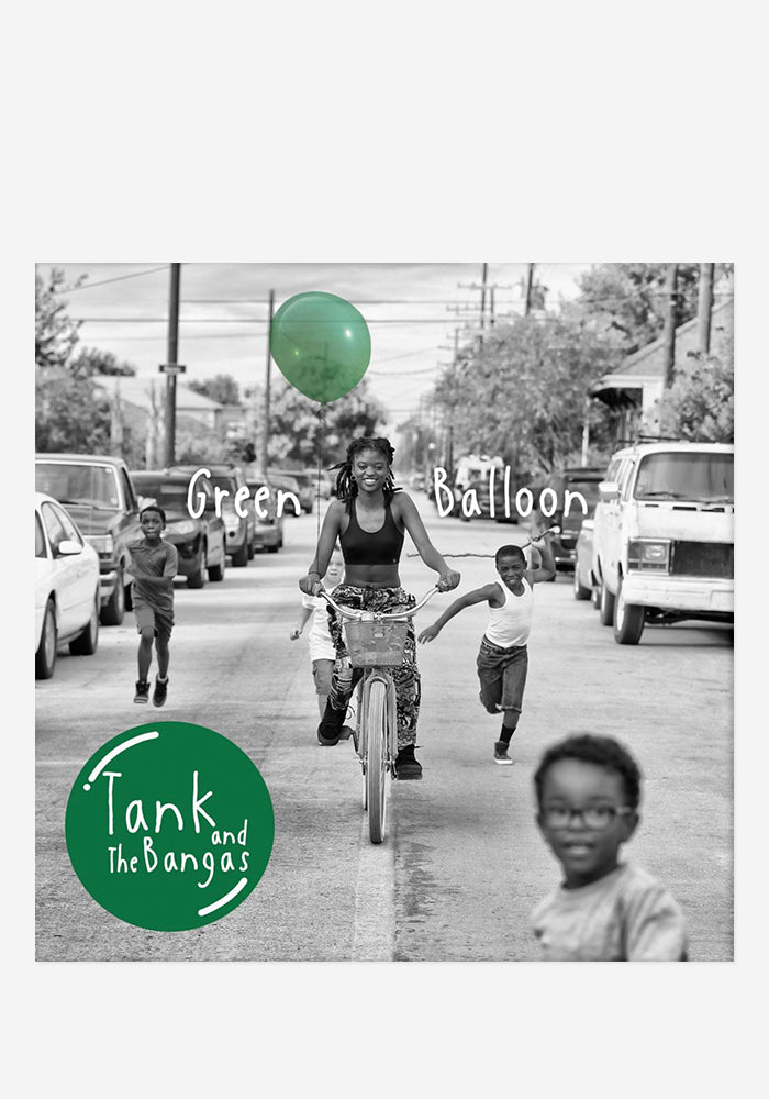 TANK AND THE BANGAS Green Balloon CD With Autographed Booklet