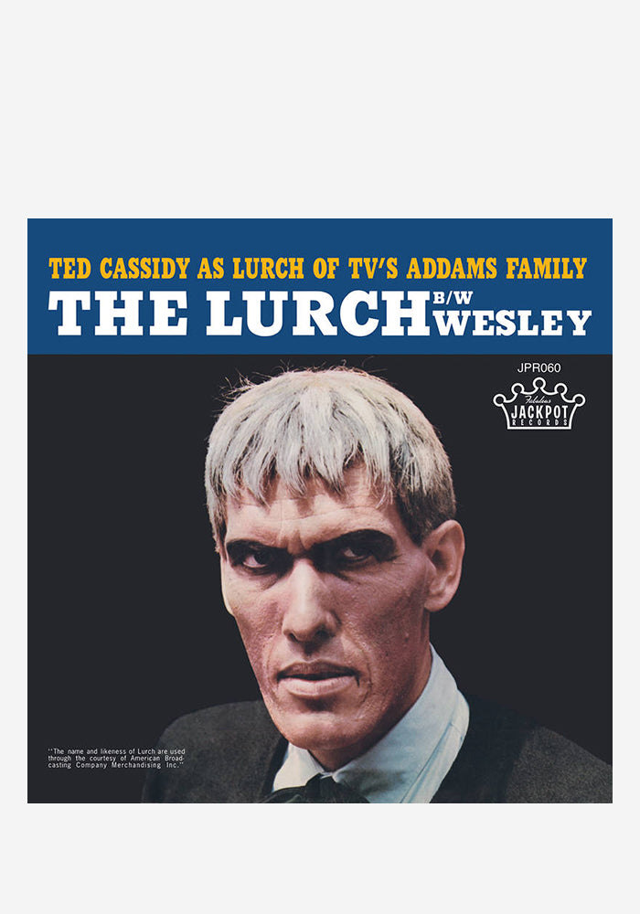 TED CASSIDY The Lurch 7""