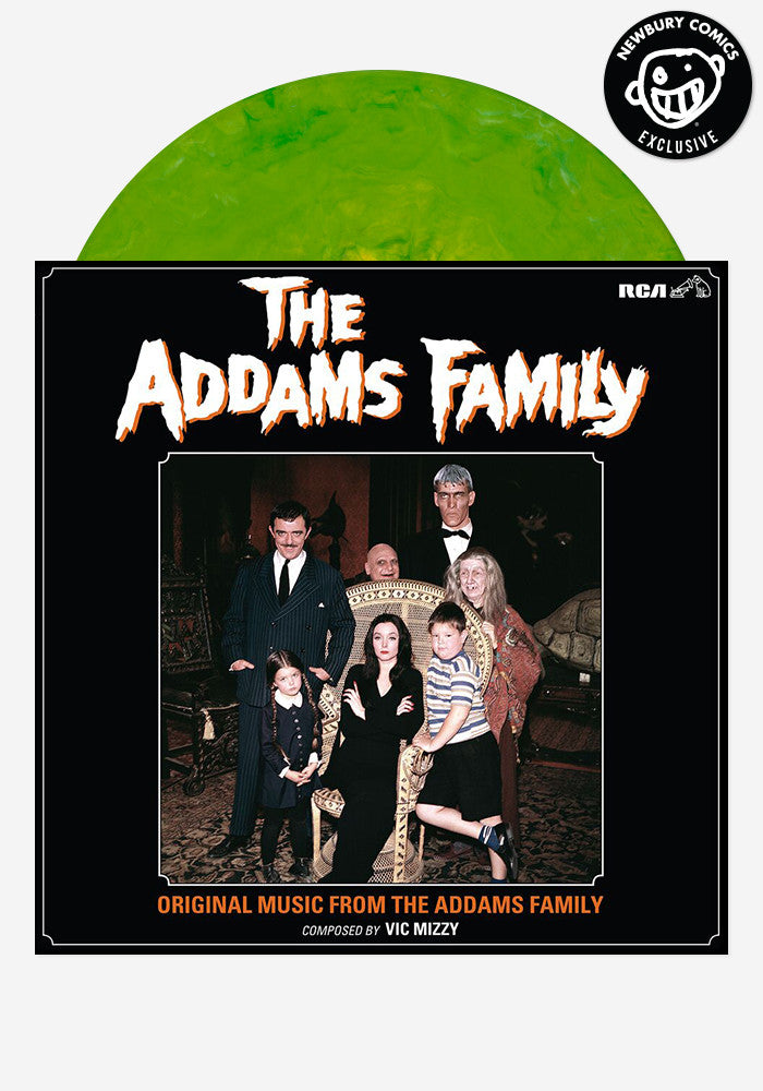 VIC MIZZY Soundtrack - The Addams Family Exclusive LP