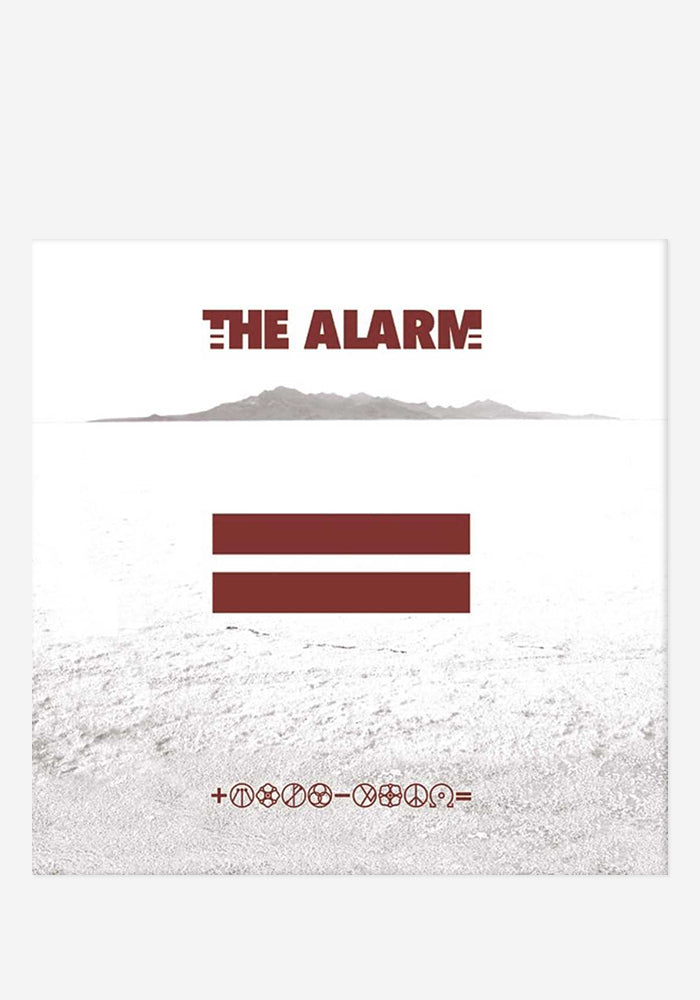 THE ALARM Equals CD With Autographed Postcard