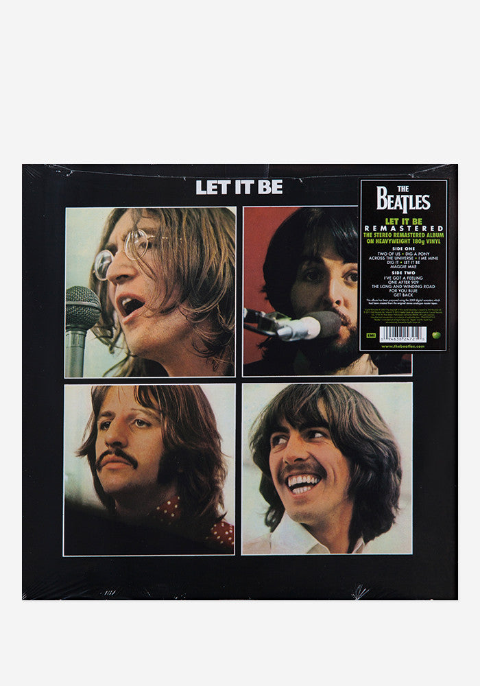 THE BEATLES Let It Be LP Remastered