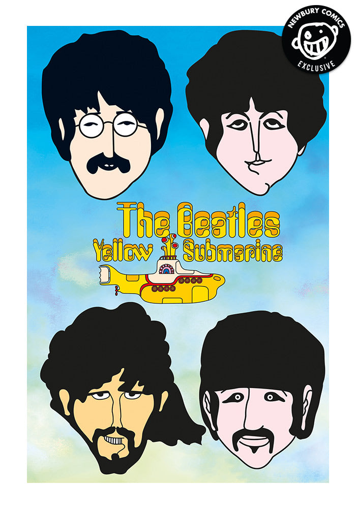 TITAN COMICS The Beatles Yellow Submarine Exclusive Variant Graphic Novel