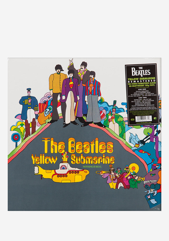 THE BEATLES Yellow Submarine LP Remastered