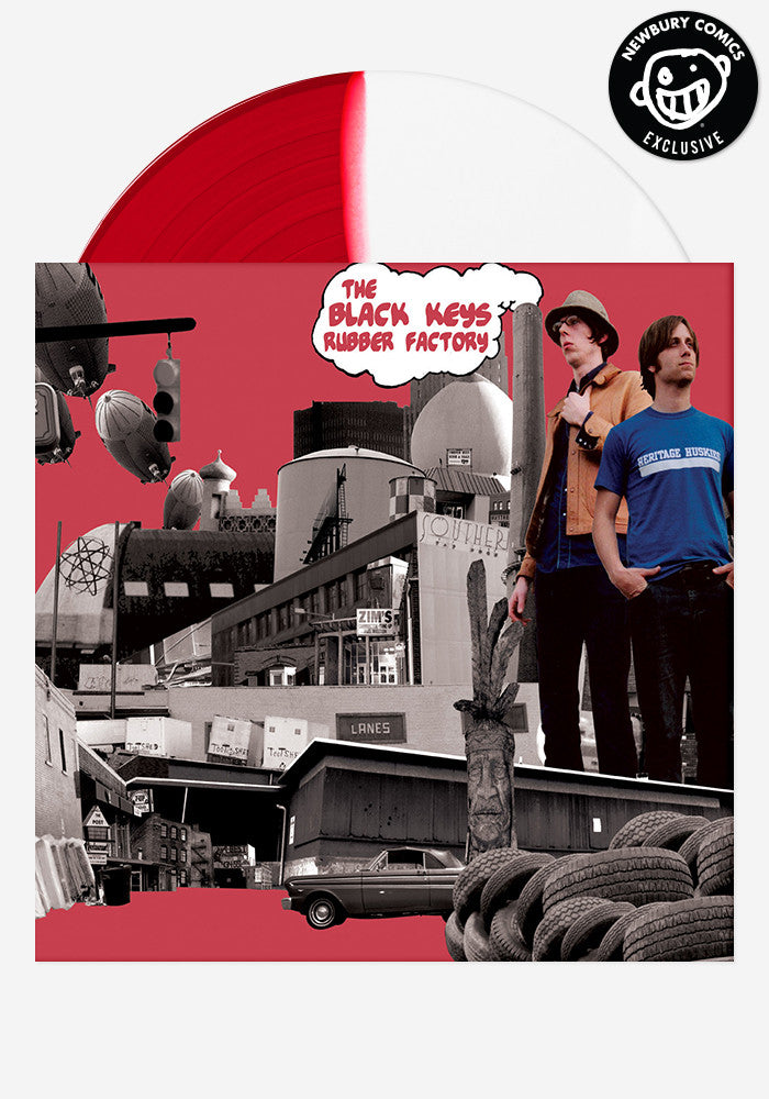 THE BLACK KEYS Rubber Factory Exclusive LP