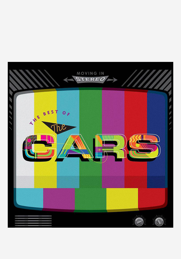 THE CARS Moving In Stereo: The Best Of The Cars 2LP