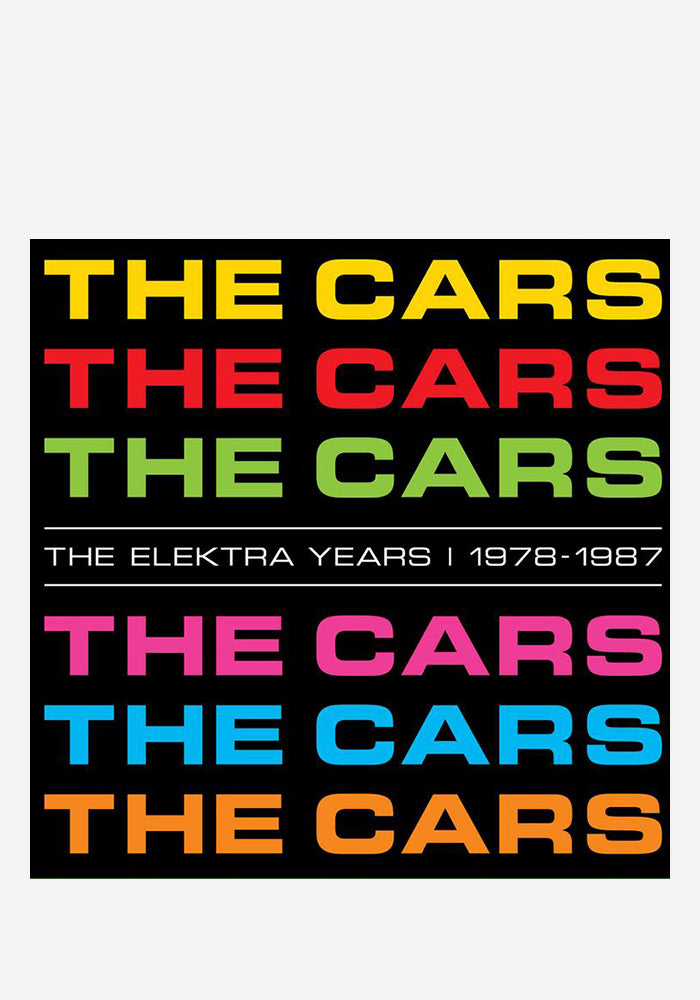 THE CARS The Elektra Years 1978-1987 6LP Box Set (Color)