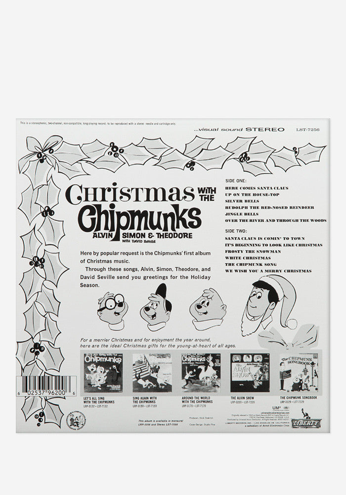 CHIPMUNKS Christmas With The Chipmunks Exclusive LP
