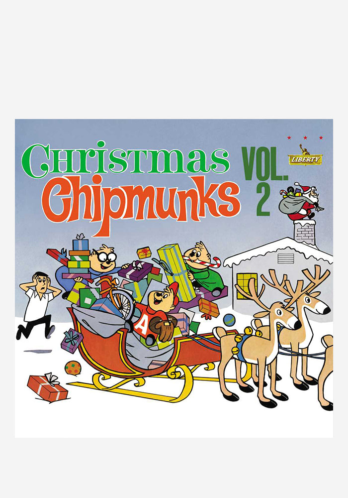 the chipmunks christmas with the chipmunks vol2 lp color - Chipmunks Christmas