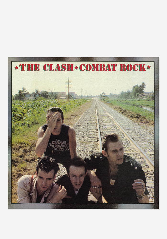 THE CLASH Combat Rock  LP