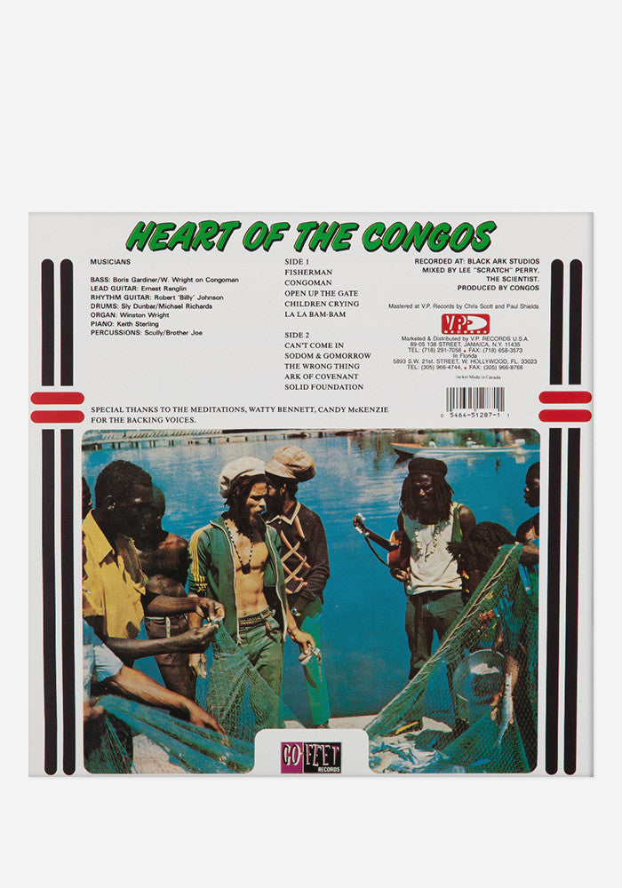 THE CONGOS Heart Of The Congos Exclusive LP