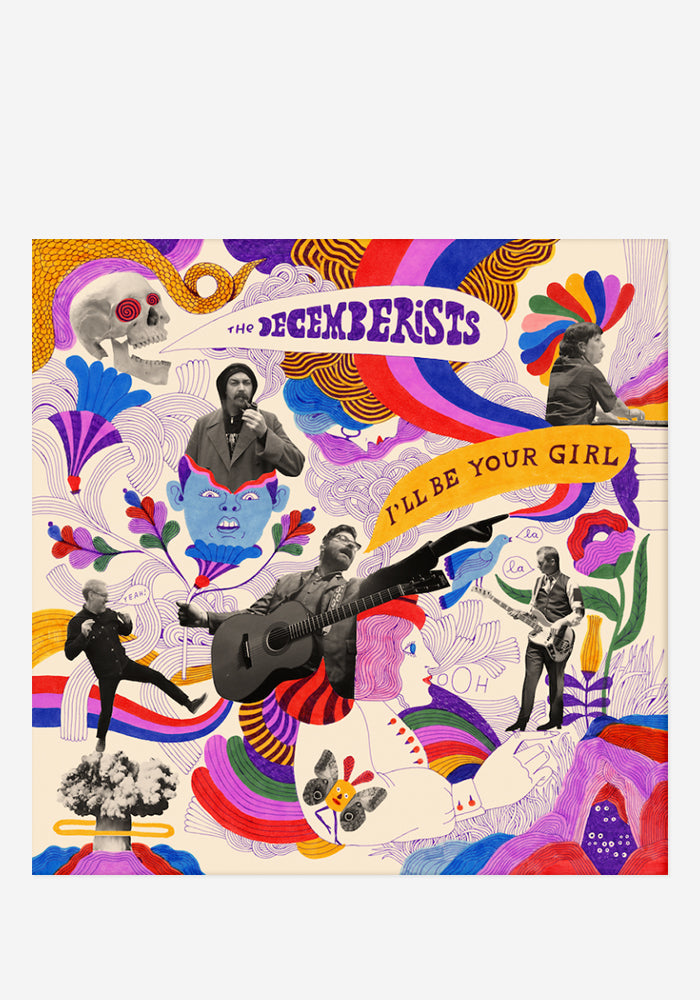 THE DECEMBERISTS I'll Be Your Girl With Autographed CD Booklet