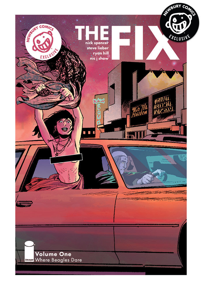 IMAGE COMICS The Fix Vol. 1 Exclusive Variant Graphic Novel