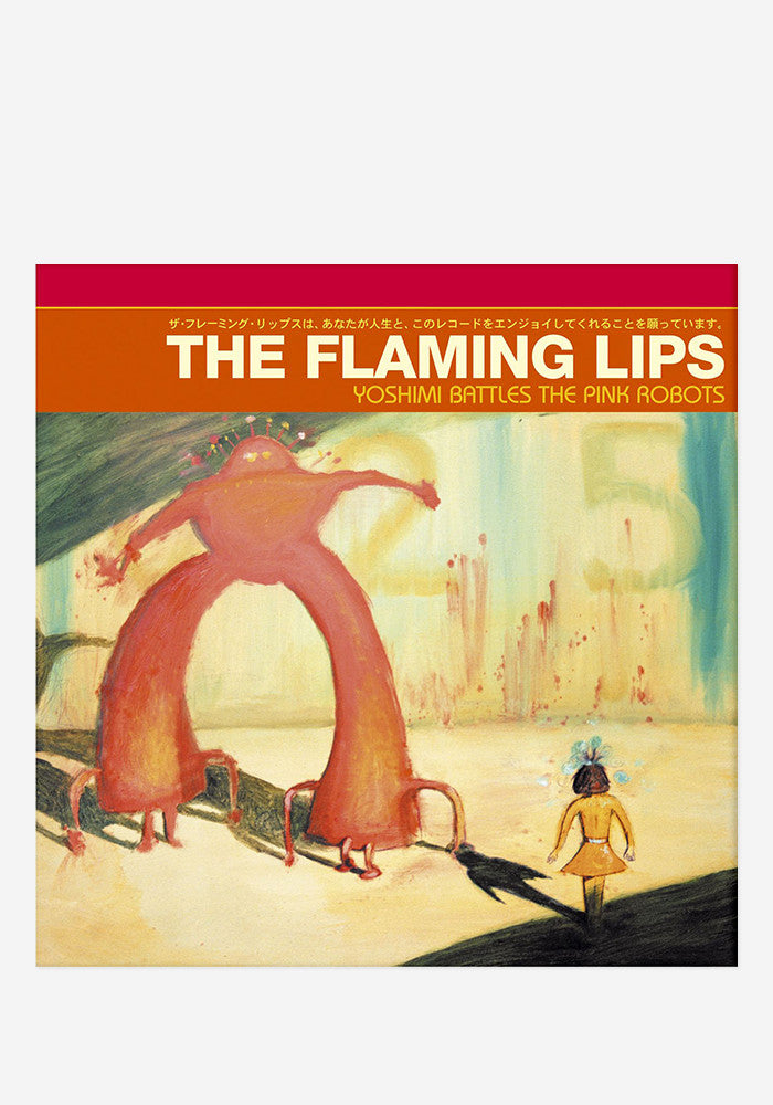 THE FLAMING LIPS Yoshimi Battles the Pink Robots LP