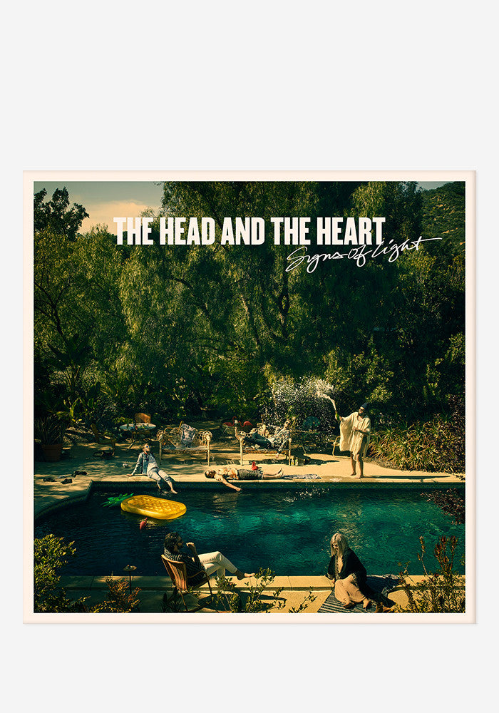 THE HEAD AND THE HEART Signs Of Light With Autographed CD Booklet