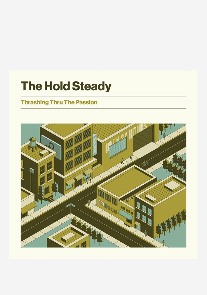 THE HOLD STEADY Thrashing Thru The Passion LP