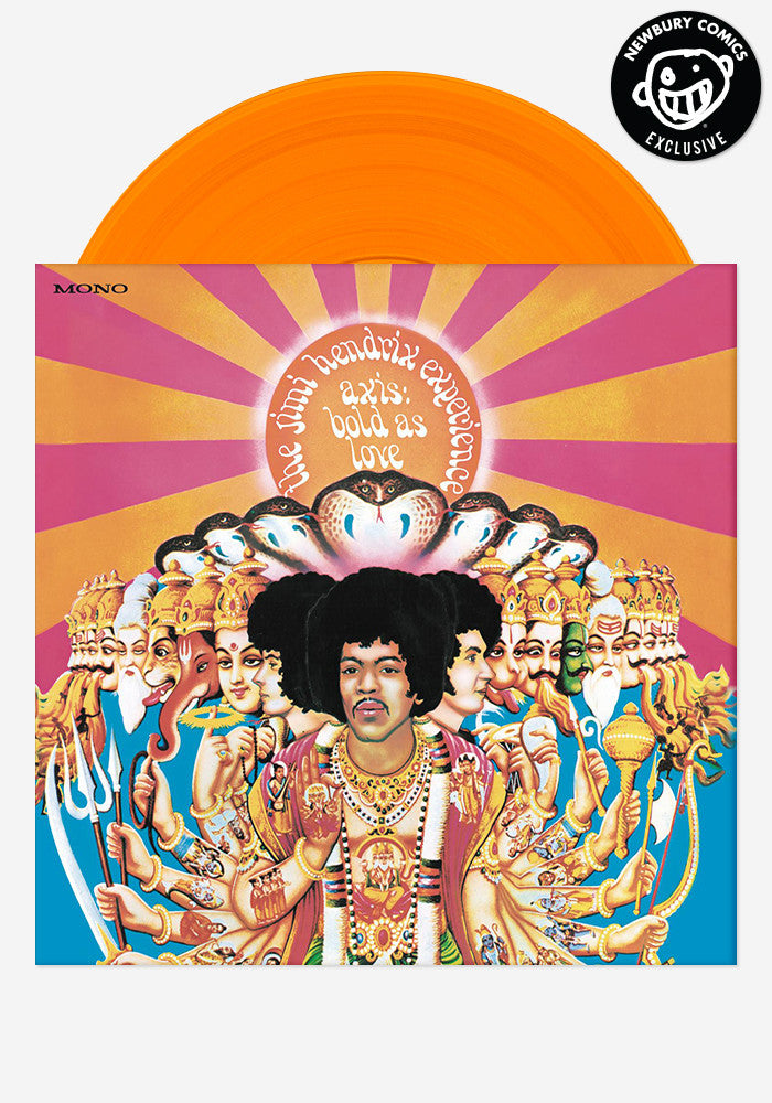 THE JIMI HENDRIX EXPERIENCE Axis: Bold As Love Exclusive LP